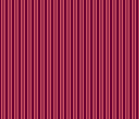 Pink Dalek - Stripe fabric by catimenthe on Spoonflower - custom fabric