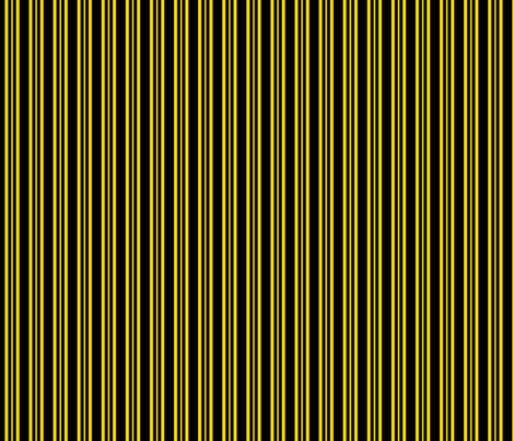 Yellow Dalek - Stripe fabric by catimenthe on Spoonflower - custom fabric