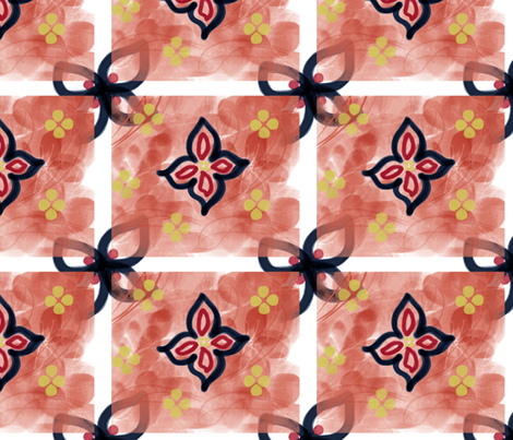 Matisse_pattern fabric by hfts on Spoonflower - custom fabric