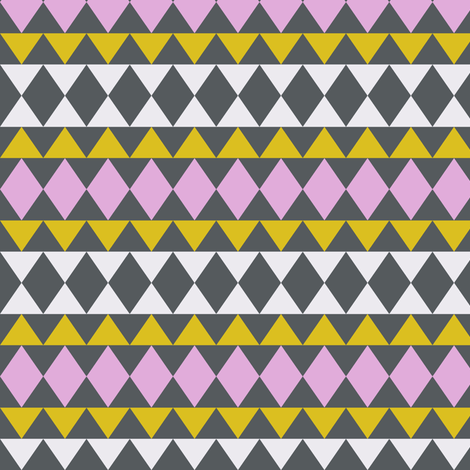 triangles fabric by katarina on Spoonflower - custom fabric
