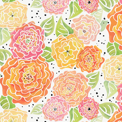 Sunny fabric by kari_d on Spoonflower - custom fabric