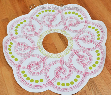 Ceiling Medallion for Girls Room