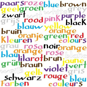 Colour words