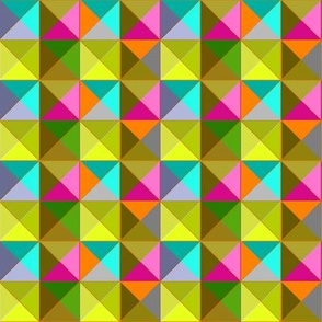 Mod Triangles bright without black