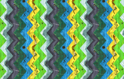 There and Back Again - Sideways fabric by thesummercountry on Spoonflower - custom fabric