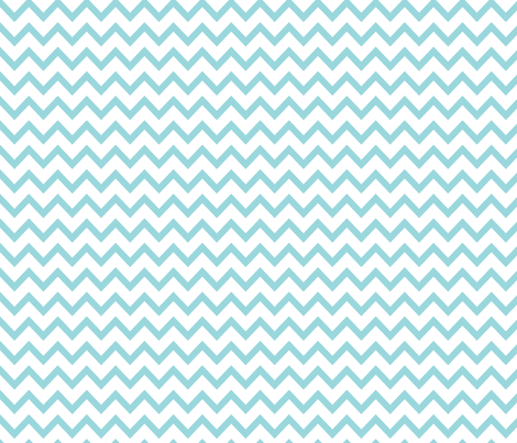 MT Xmas Chevron Blue fabric by misstiina on Spoonflower - custom fabric