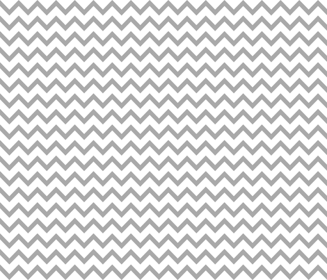 christmas chevron grey fabric by misstiina on Spoonflower - custom fabric