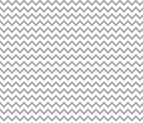 MT Xmas Chevron Grey fabric by misstiina on Spoonflower - custom fabric