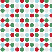 MT Xmas Dots Red / Green / Blue / Grey