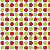 MT Xmas Dots Red / Lime Green