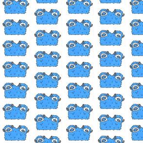 Blue Two Headed Monster