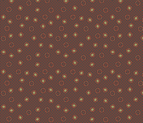 daisydots2 fabric by glimmericks on Spoonflower - custom fabric