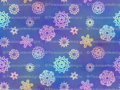 Crystalline Delight ~ Snowflakes