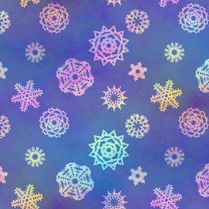 Crystalline Delight ~ Snowflakes