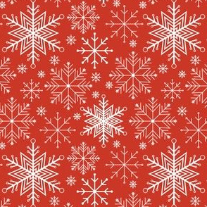 Let it Snow-red
