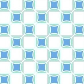 Tiles Blue Tones