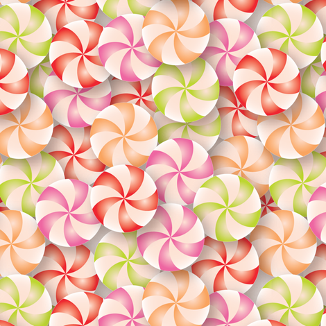 Sweeties fabric by ebygomm on Spoonflower - custom fabric