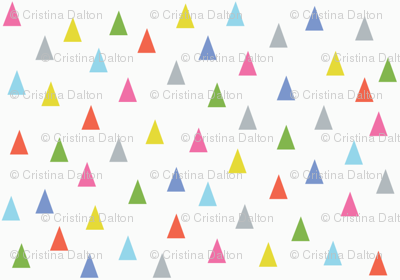 Multi-coloured Triangles