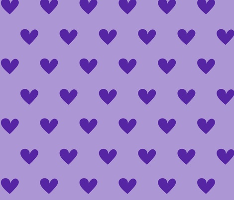 Sofie hearts fabric by studioformo on Spoonflower - custom fabric