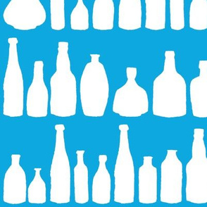 Bottles Blue