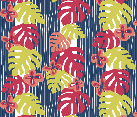 Inspired by Matisse fabric by gail_mcneillie on Spoonflower - custom fabric