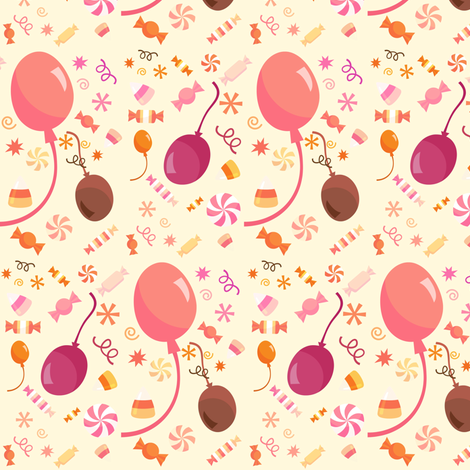 CRAZY CANDIES fabric by bluevelvet on Spoonflower - custom fabric