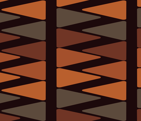 WR-Copper fabric by designertre on Spoonflower - custom fabric