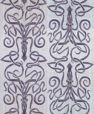 Kraken Squid - Ink Purple