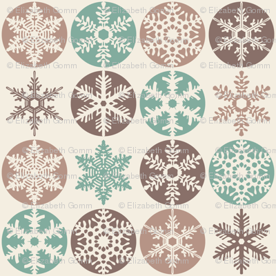 Snowflakes - Christmas Cookie Colours