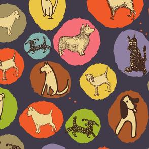 Mod Dog Print