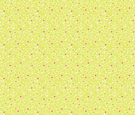 Addie_Limeade fabric by meganhagelcreative on Spoonflower - custom fabric
