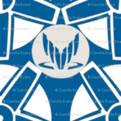 Mass Effect Citadel/Spectre pattern Blue