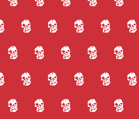 Bloodpack Polka - Mass Effect fabric by retropopsugar on Spoonflower - custom fabric