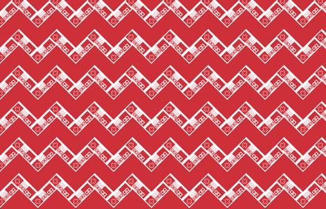 NES Chevron fabric by retropopsugar on Spoonflower - custom fabric