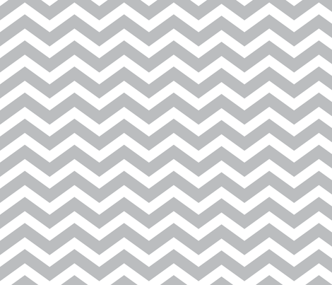 light gray chevron fabric by blissdesignstudio on Spoonflower - custom fabric