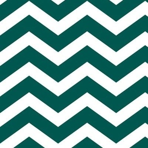 peacock chevron