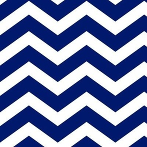 dark royal blue chevron
