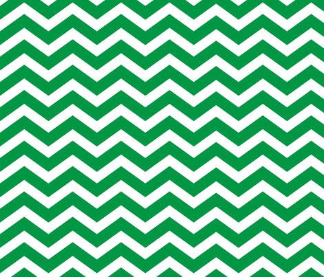 emerald green chevron