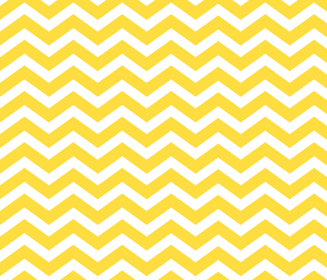 yellow chevron fabric by blissdesignstudio on Spoonflower - custom fabric