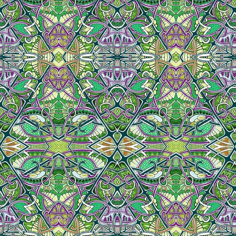 Creeping Through the Forest fabric by edsel2084 on Spoonflower - custom fabric