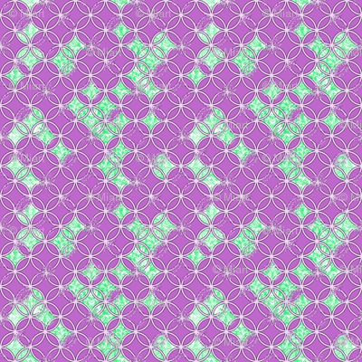 Distressed Circles Purple