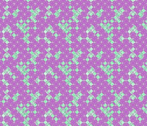Distressed Circles Purple fabric by miart on Spoonflower - custom fabric