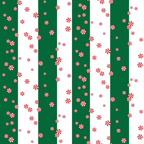 Peppermint-Swirls fabric by hmooreart on Spoonflower - custom fabric