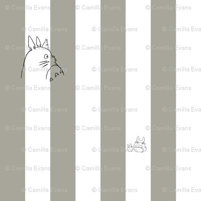 Totoro Grey stripe