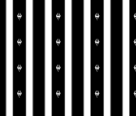 Skyrim Stripe fabric by retropopsugar on Spoonflower - custom fabric