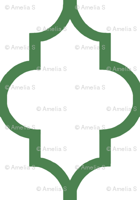 Kelly Quatrefoil