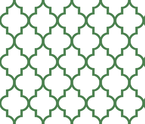 Kelly Quatrefoil fabric by sparrowsong on Spoonflower - custom fabric