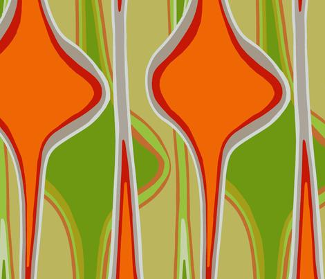One-yard ornaments fabric by wren_leyland on Spoonflower - custom fabric