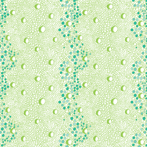 Bubble Rain fabric by ivoryshades on Spoonflower - custom fabric