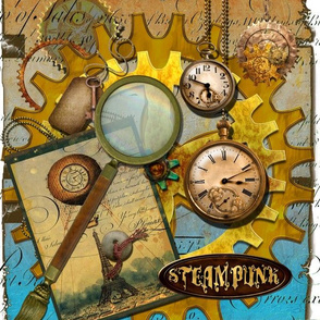 Steampunk Spyglass